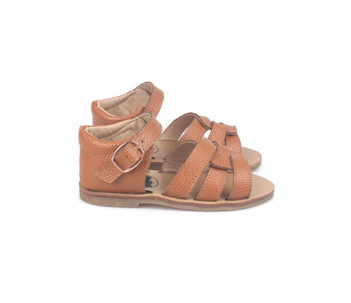 Hard Sole Sandal - Tan