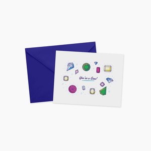 You're a Gem Card with envelope