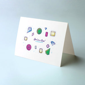 You're a Gem Card without envelope