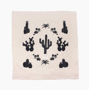 Succulent Cacti Tea Towel