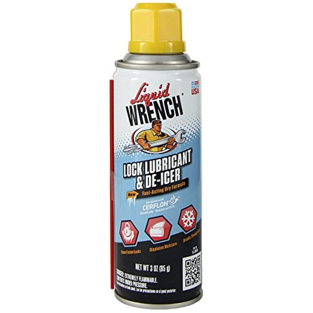 Liquid Wrench LLD03/6 Lock Lubricant and De-Icer - 3 oz.