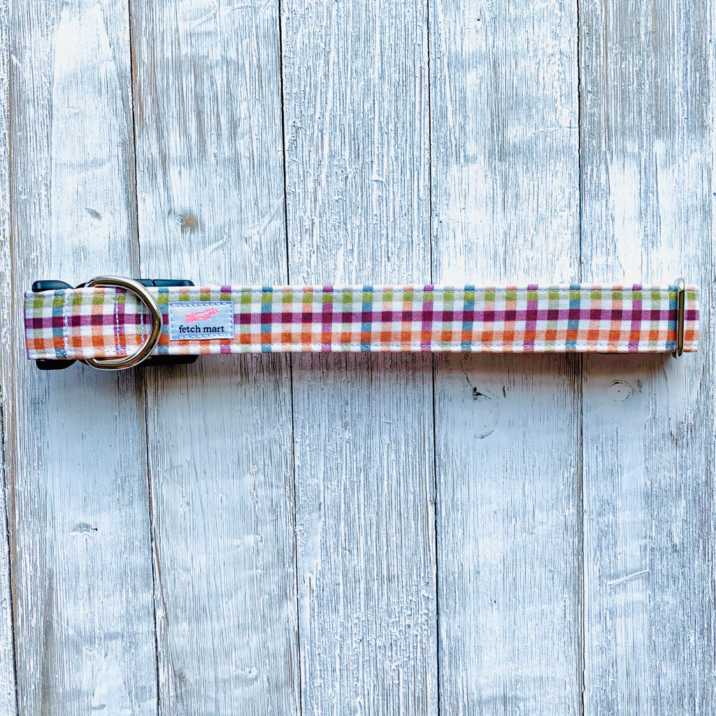 Autumn Plaid Collar
