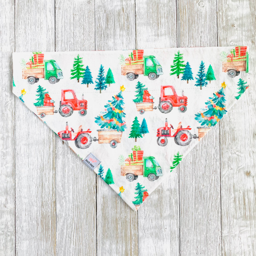 Holiday Tractors Bandana