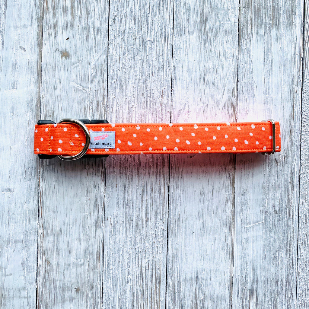 Pumpkin Spots Collar