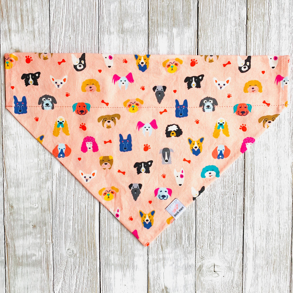 Colorful Dogs Bandana