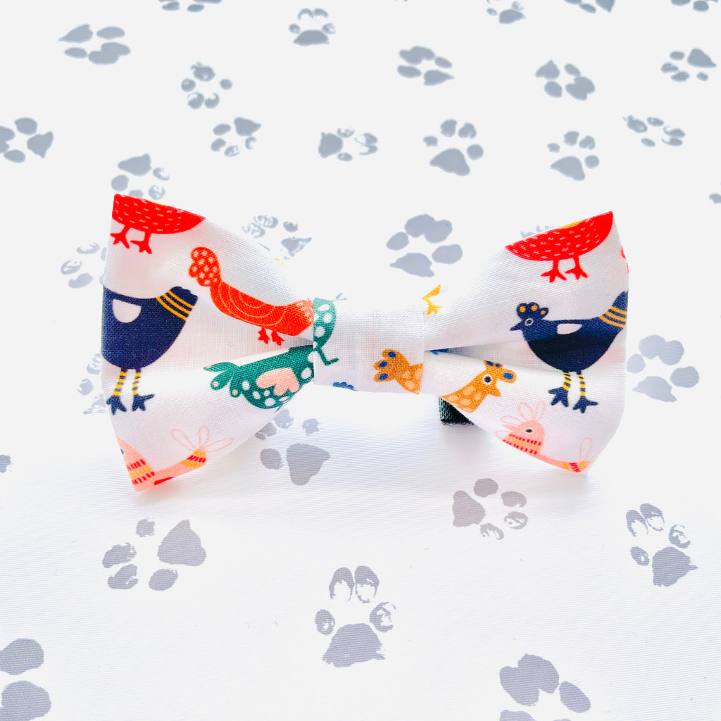 Chickens Bow Tie