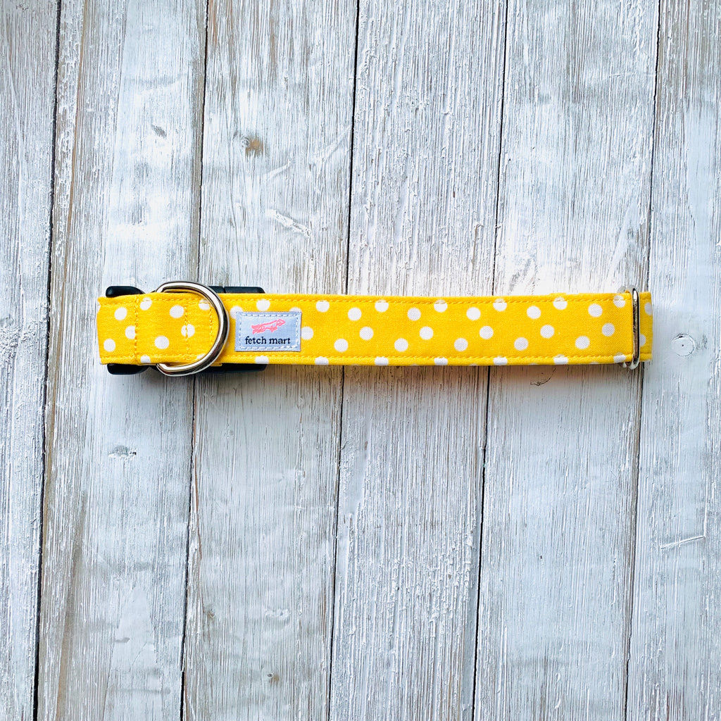 Yellow Dots Leash