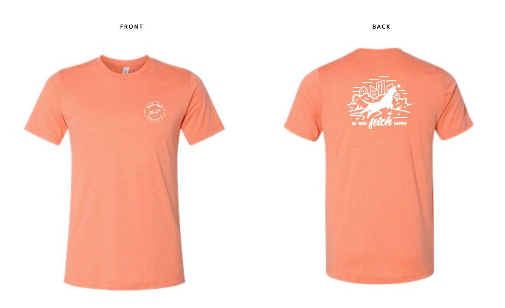 Fetch Mart T-Shirt in Heather Orange