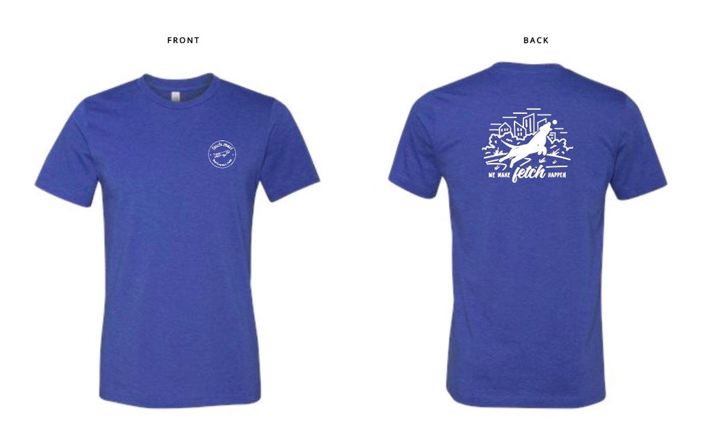 Fetch Mart T-Shirt in Heather Blue