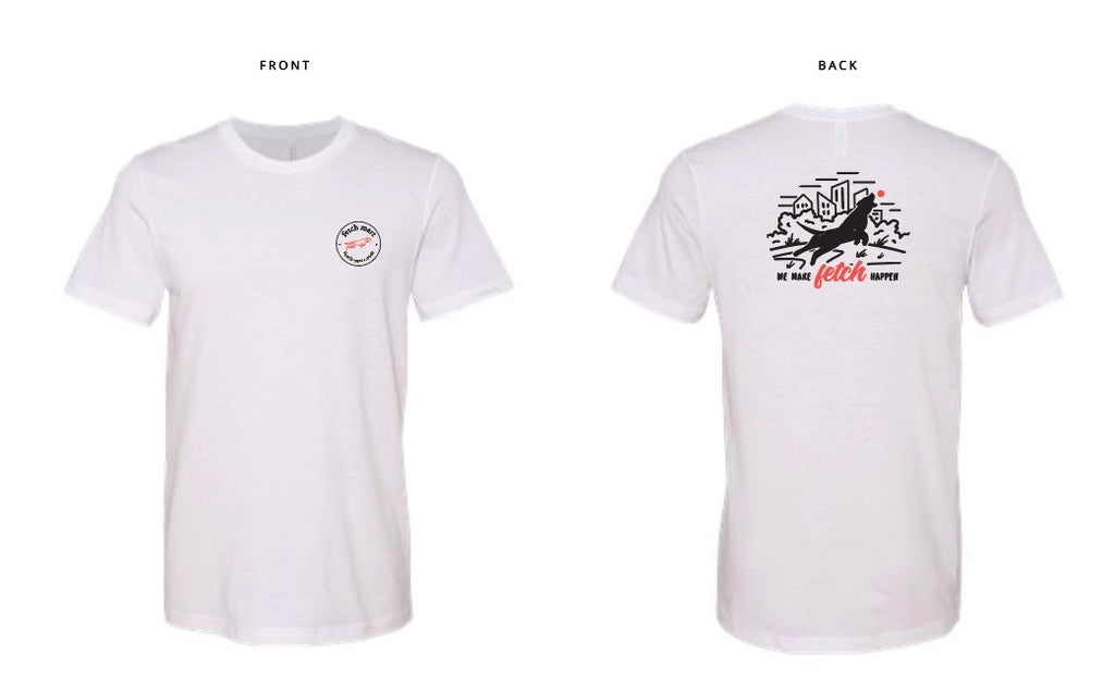 Fetch Mart T-Shirt in White