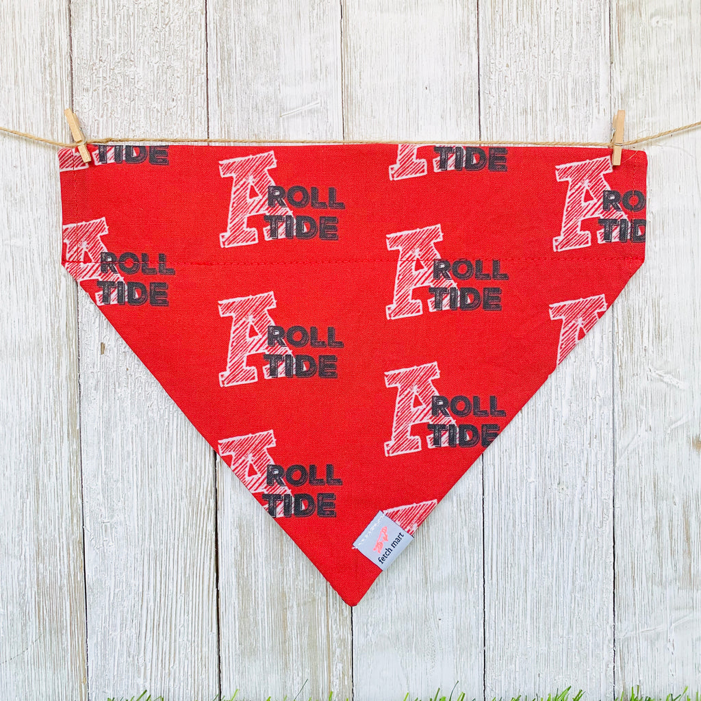 Alabama Roll Tide Bandana