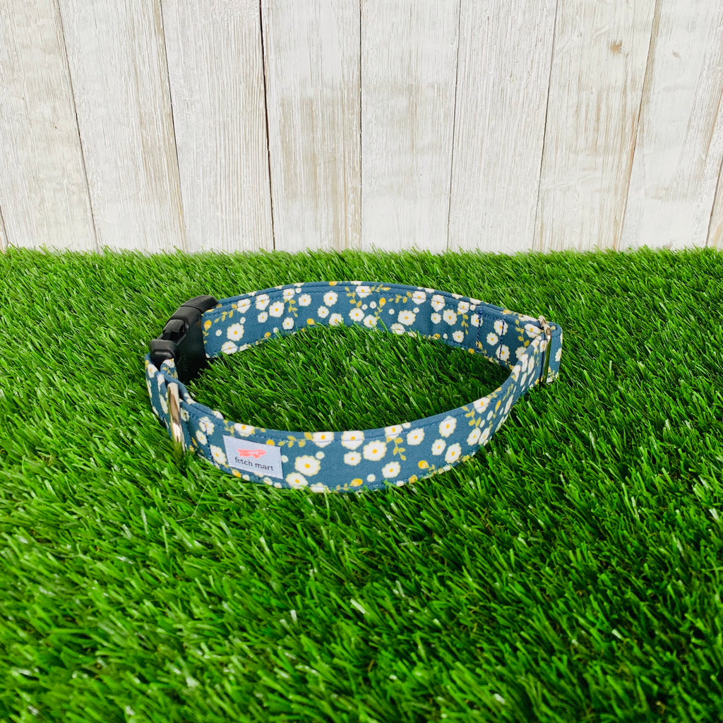 Turquoise Poppies Collar