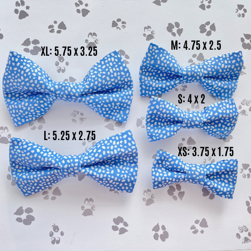 Aqua Plaid Bow Tie