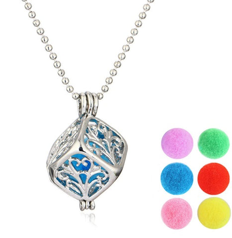 Aromatherapy Essential Oil Necklace