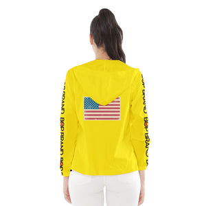 BOP LEMON HOODED WINDBREAKER