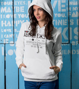 BOP FOREIGN TRAVELS Adult Unisex Heavyweight Fleece Hoodie