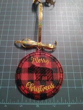 Vinyl Christmas Ornament