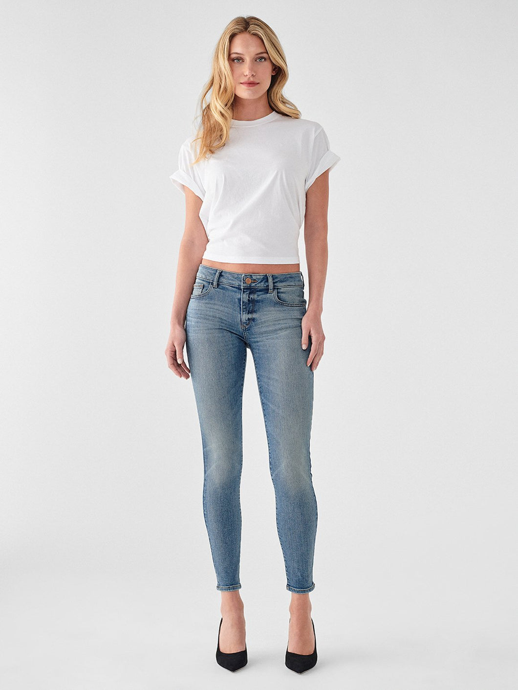 DL1961 - Emma Low Rise Instasculpt Skinny - Goodyear