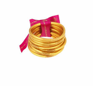 BuDhaGirl - All Weather Bangles - Gold