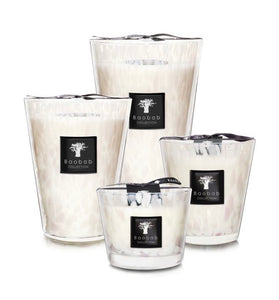 Baobab - White Pearls Candle - 35cm