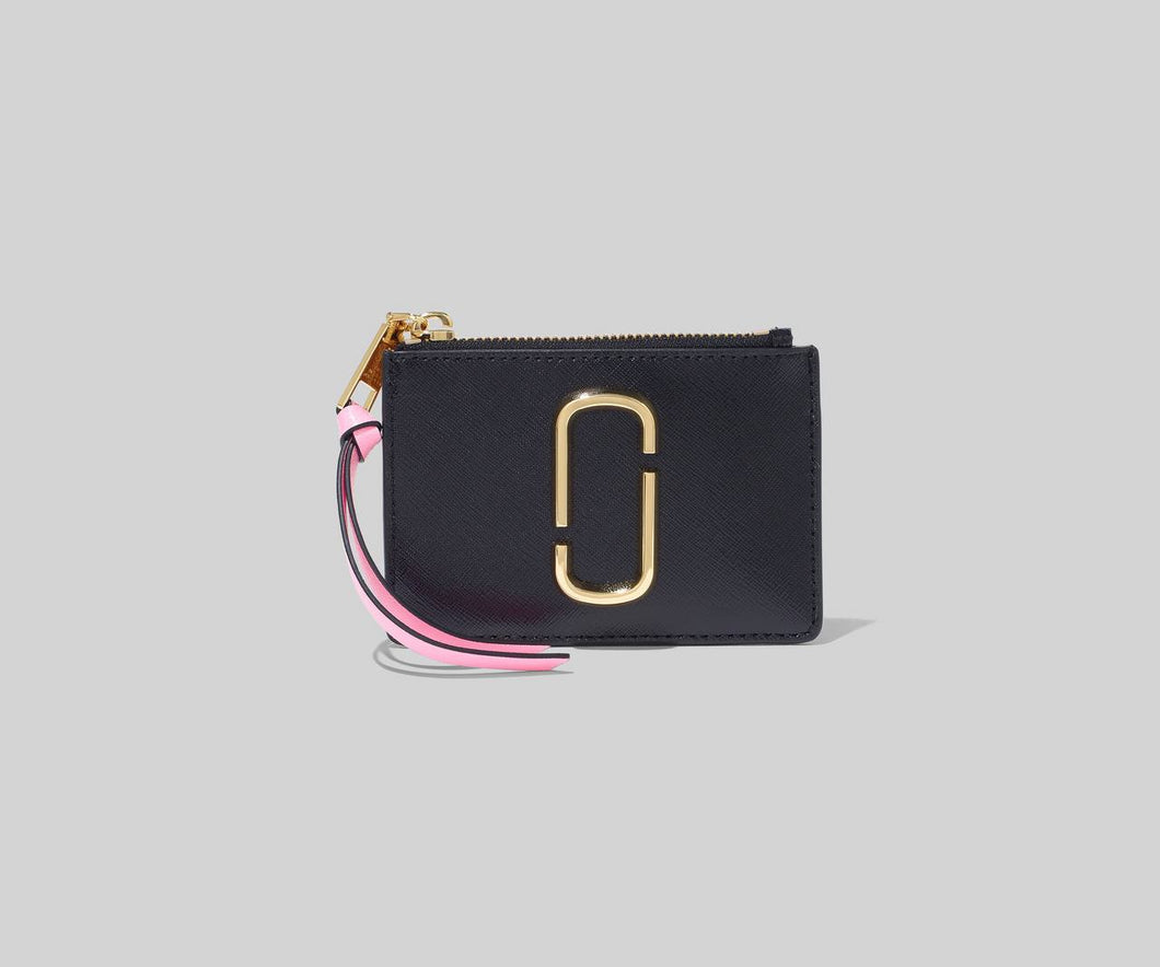 Marc Jacobs - The Snapshot Top Zip Multi Wallet - New Black Multi