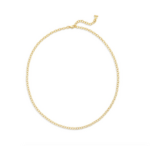 TSC - 18K Extra Small Oval Chain  - 18""