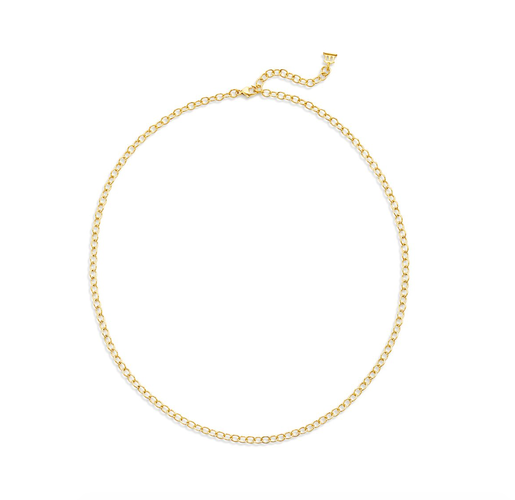 TSC - 18K Extra Small Oval Chain  - 18