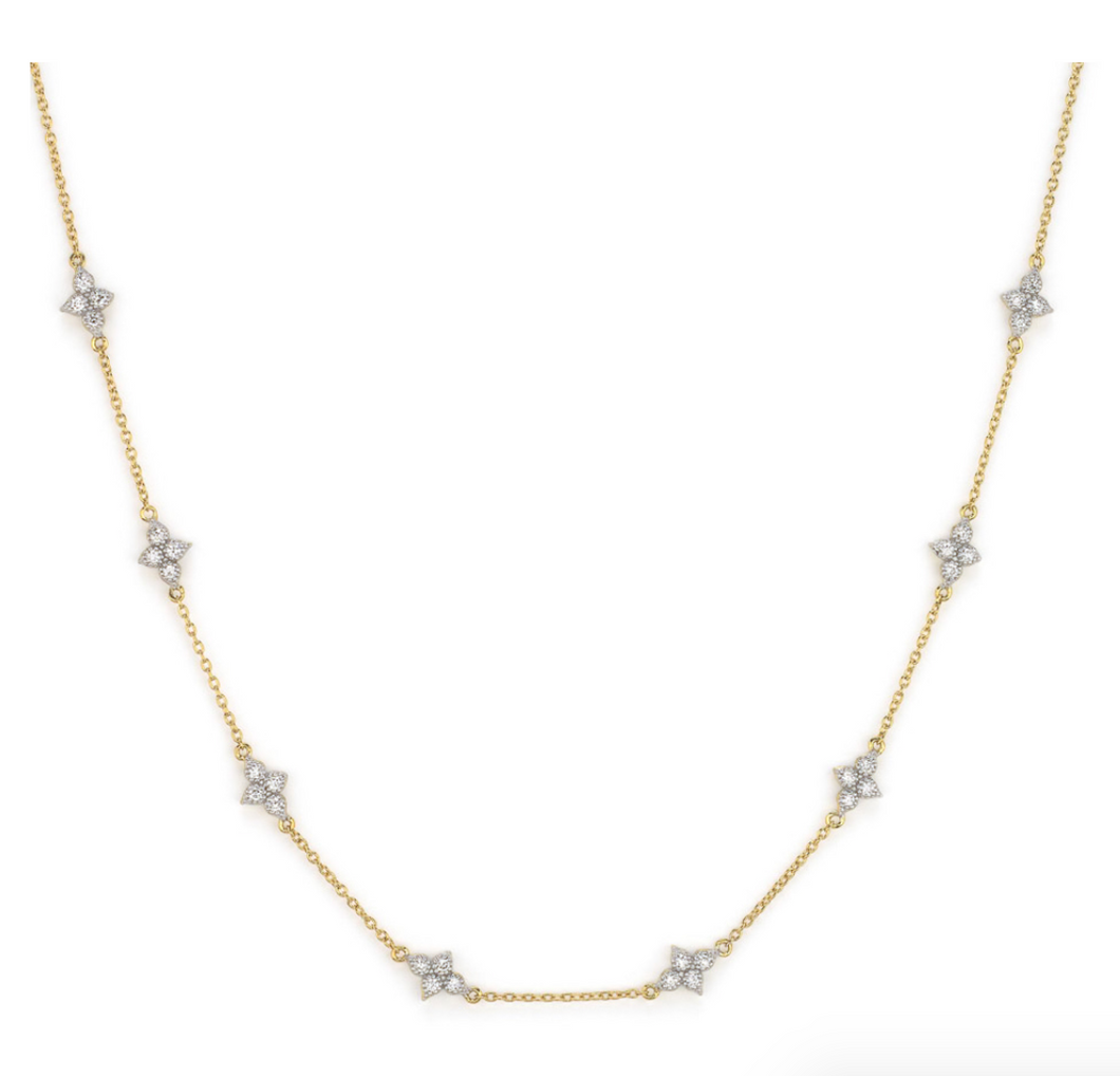 Jude Frances - Moroccan Quad Diamond Station Chain