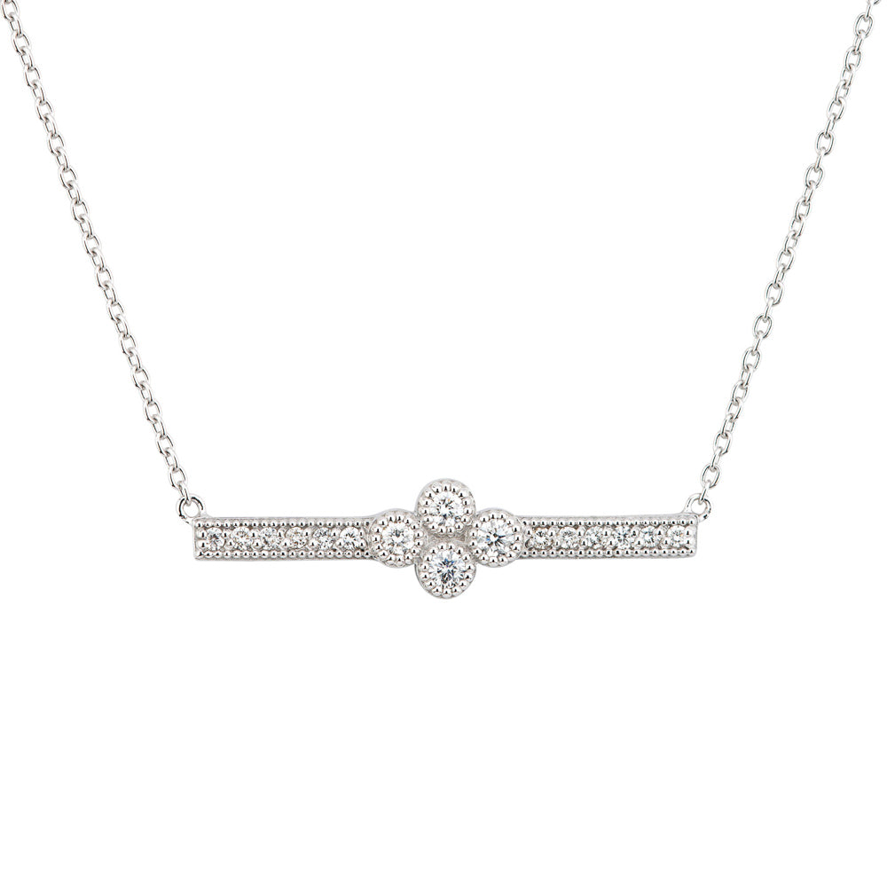 Jude Frances - Provence Bar Necklace