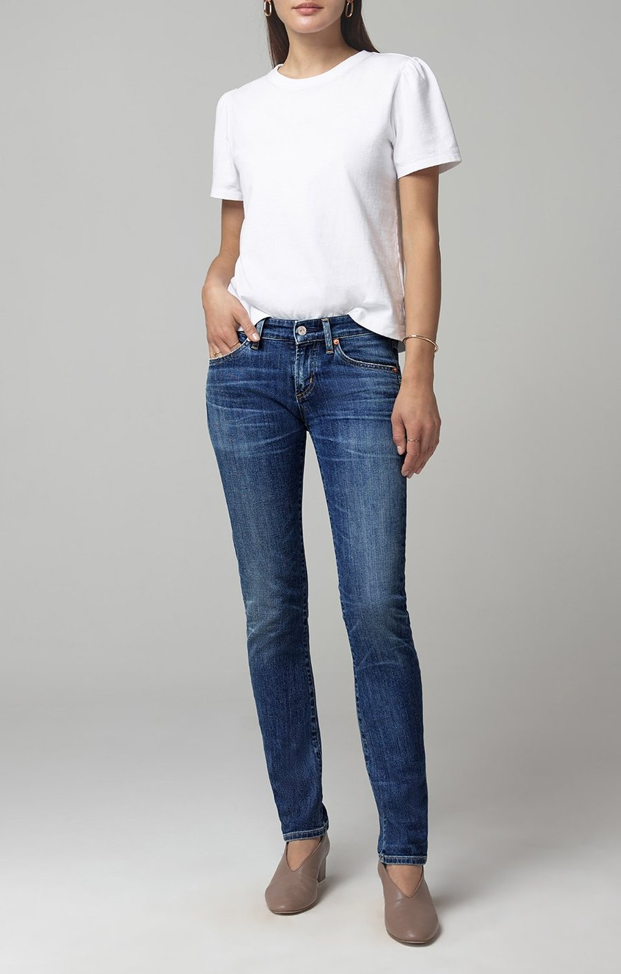 Citizens of Humanity - Racer Low Rise Skinny - Caspian