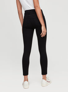 Citizens of Humanity - Rocket Crop High Rise Skinny - Plush Black