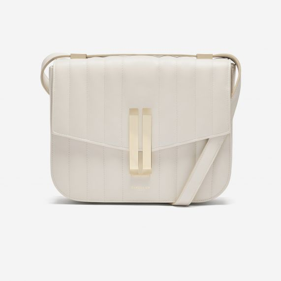 DeMellier - The Vancouver - Off White Quilted Smooth