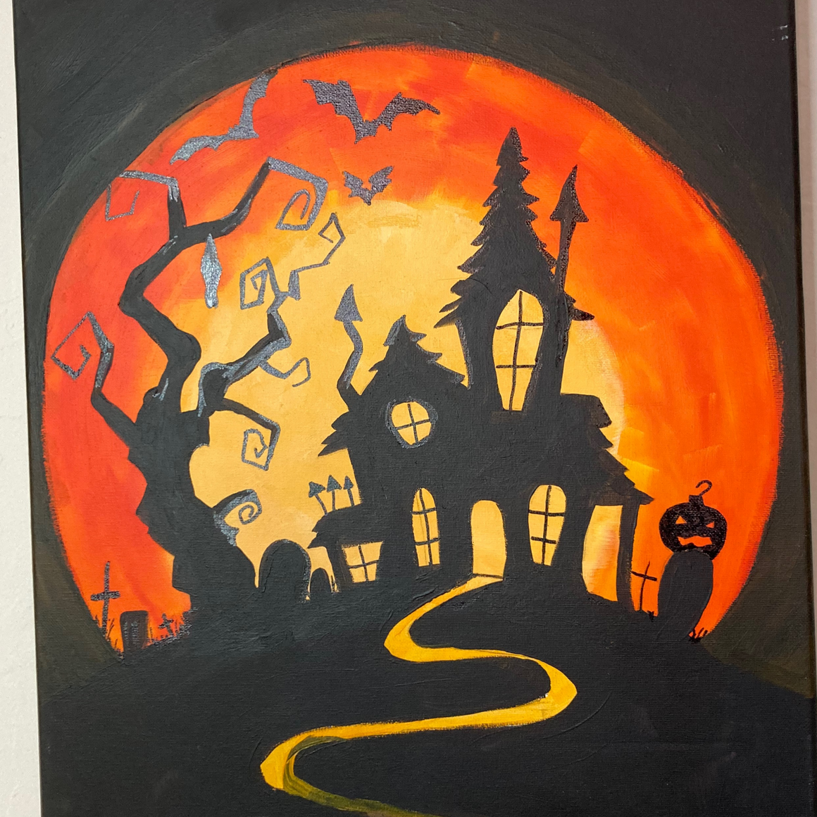 DIY Paint Set - Haunted House