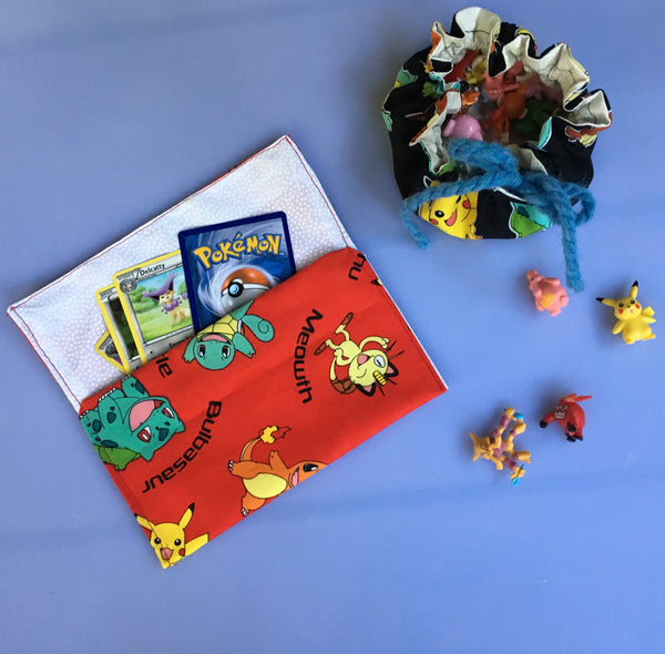 Pokemon Fabric Pouches