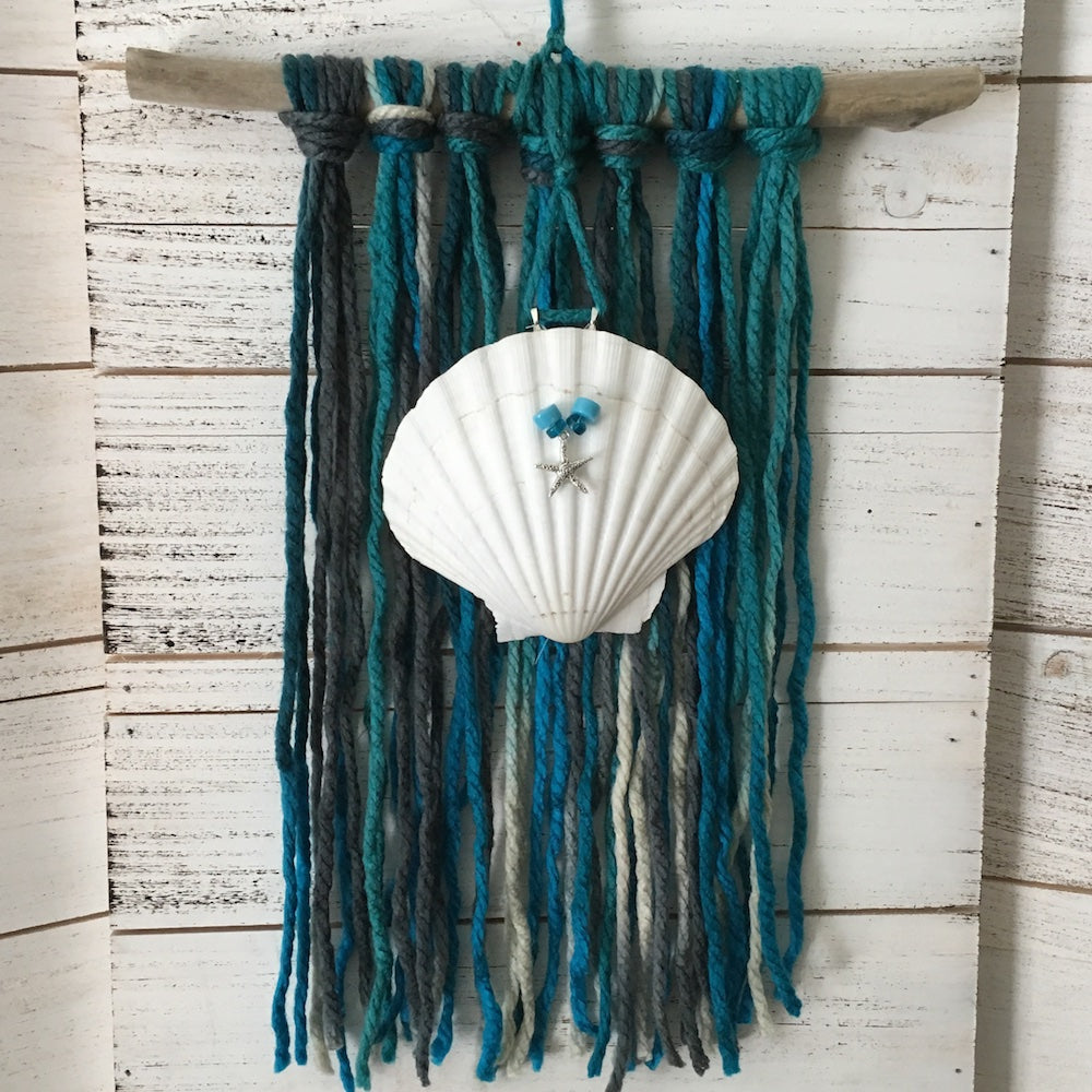 Boho Sea Inspired Wall Hanging
