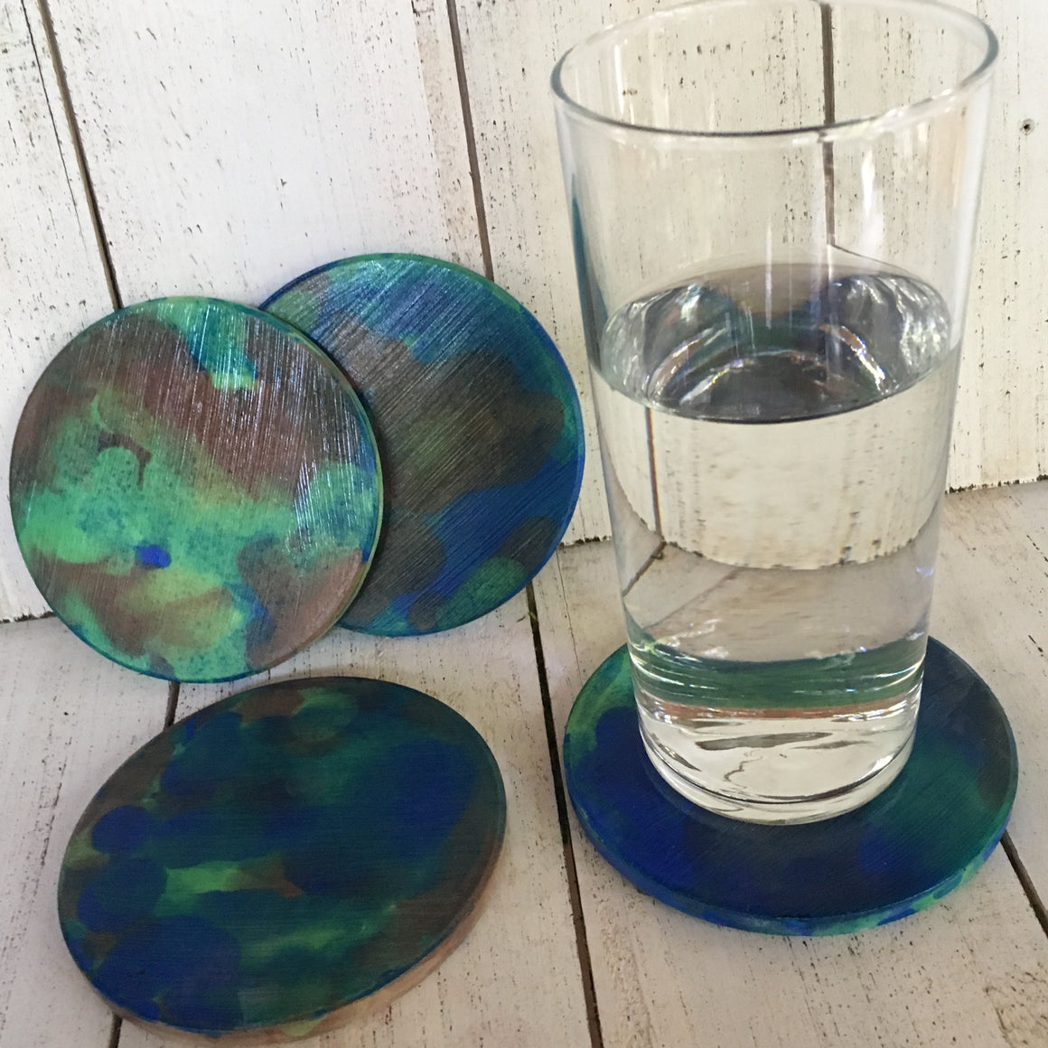 DIY Earth Inspired Coasters