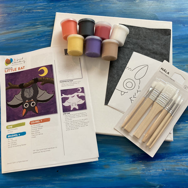 DIY Paint Set - Little Bat