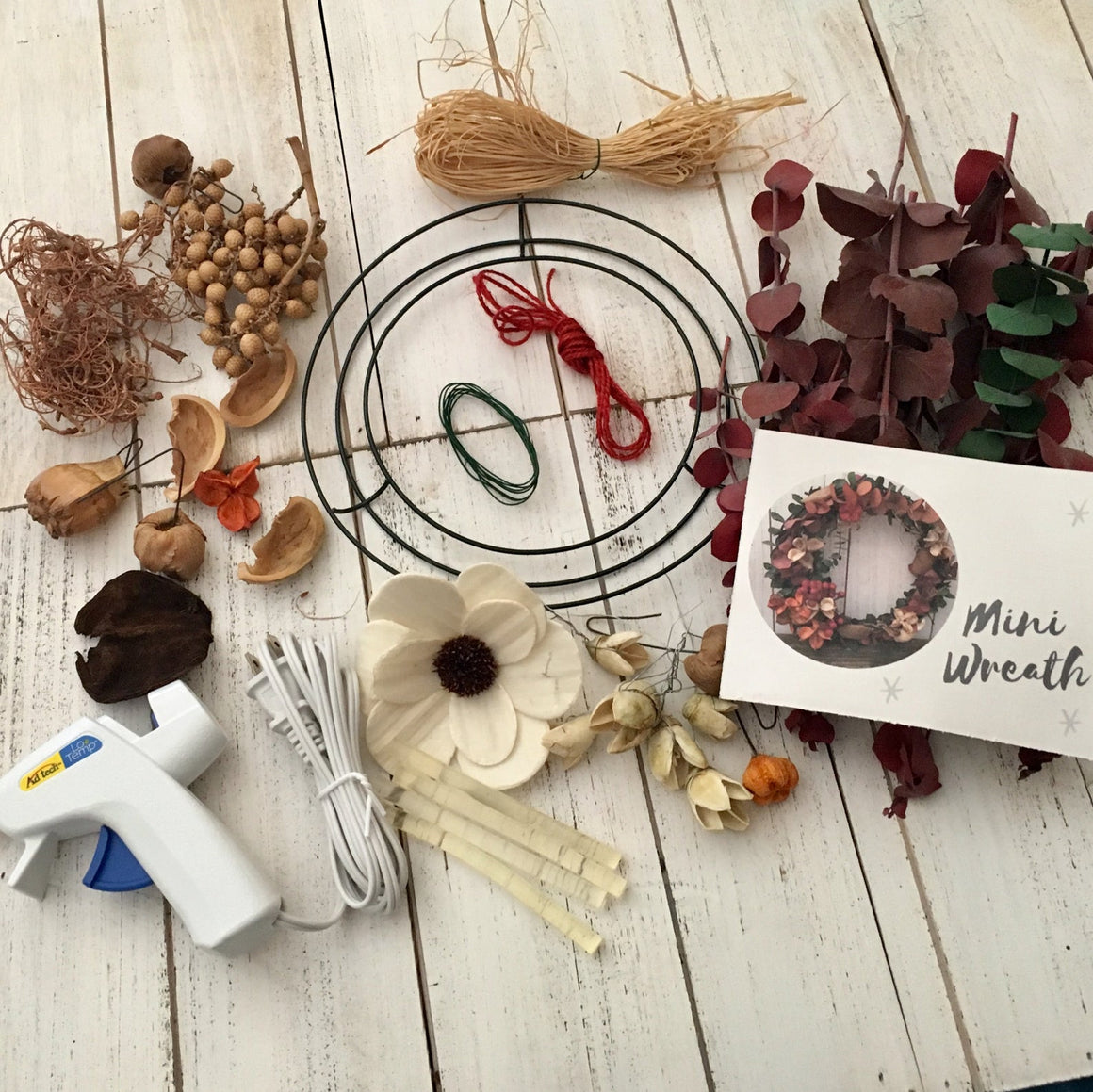 Fall Mini Wreath Making Kit