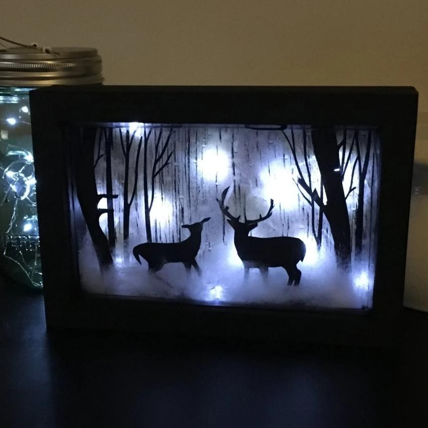 Winter Shadow Box Kit