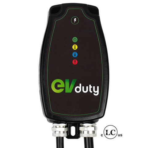 EVduty-40 EVC30 Charger for Electric Car and Plug In Hybrids-Level 2 Charging Station-ChargeHub
