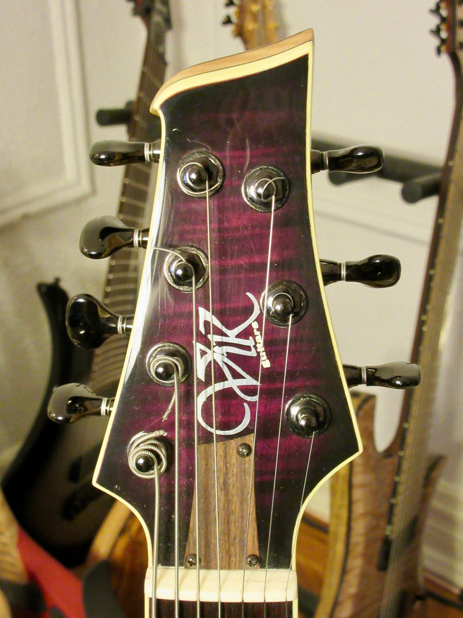 Vik Confessor 7 Dark Purple Doom Burst