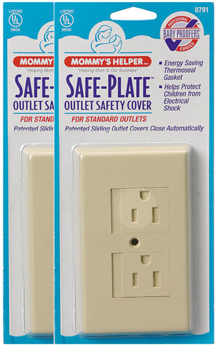 Safe-Plate Outlet Cover - 25pk