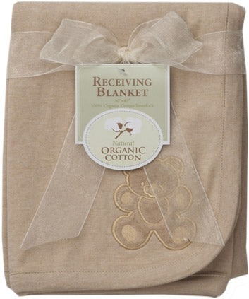 ABC Organic Cotton Receiving Blanket