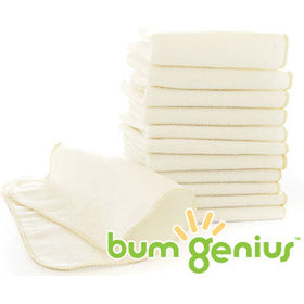 bumGenius Flannel Wipes - 12pk