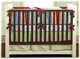 Caden Lane Carey 4 Piece Crib Set