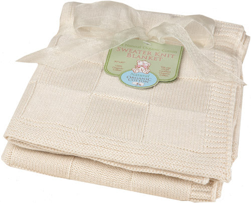 ABC Organic Sweater Knit Blanket