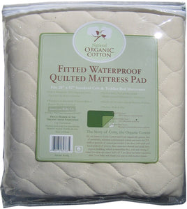 ABC Organic Waterproof Mattress Pad - Crib