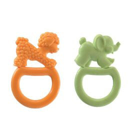 Vanilla Teething Ring, 2 pk