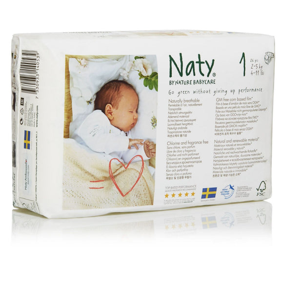 Nature Babycare Eco Jumbo Pack Diapers