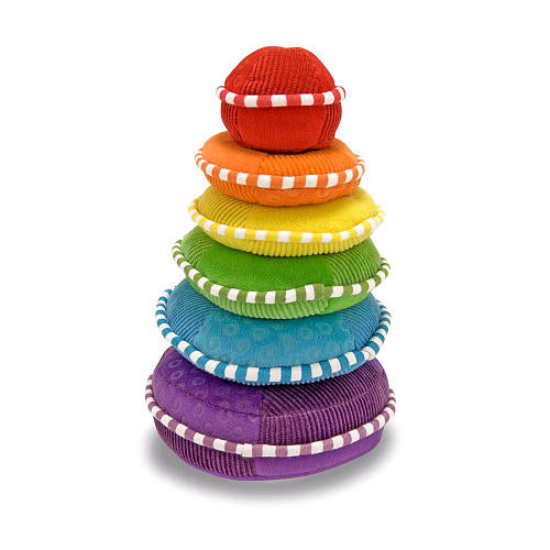 Melissa & Doug Plush Rainbow Stacker